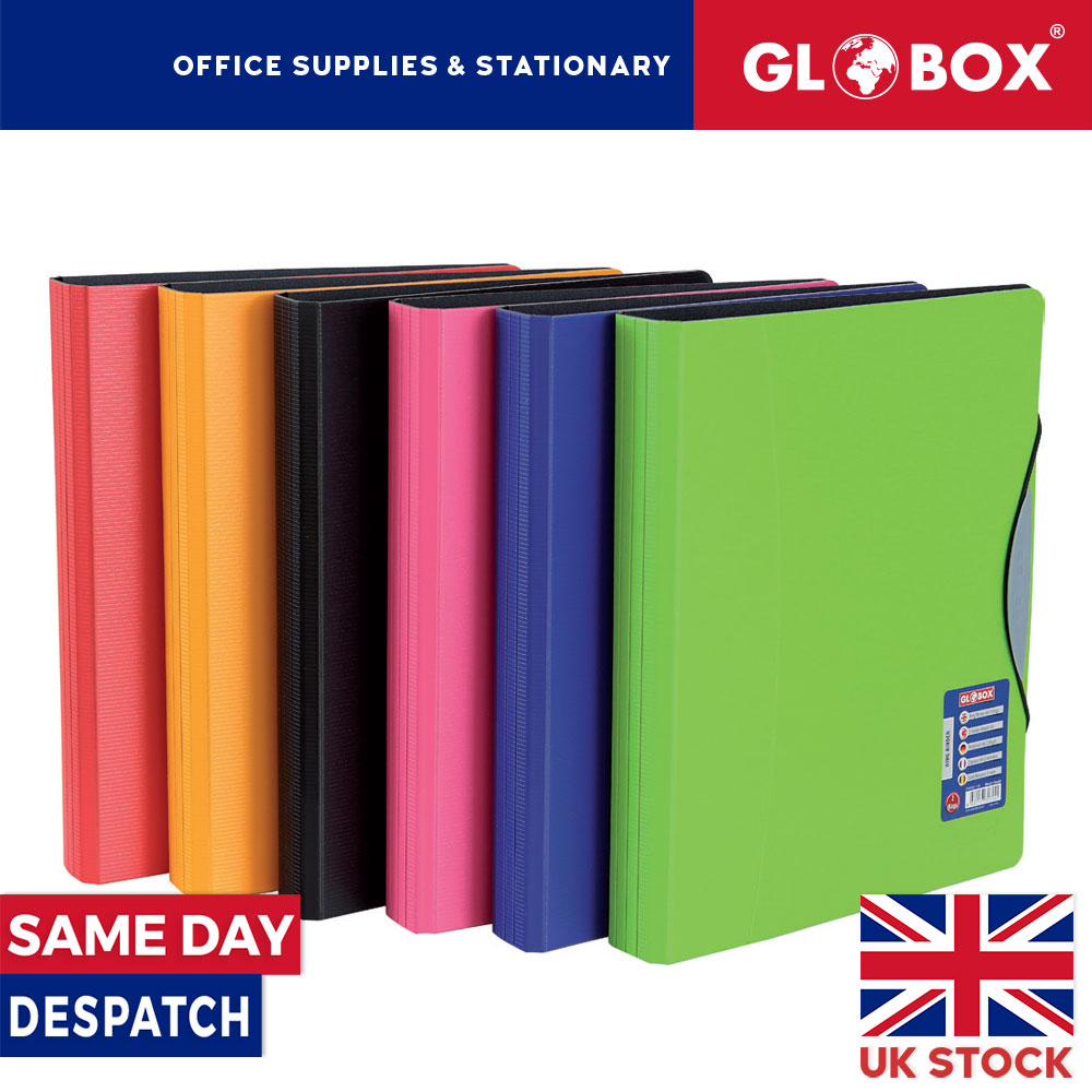 PP Foam Ring Binder With Elastic Lock On Front Side